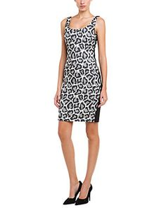 Again, DVF, I love you. So cute...love the print & the style. I could definitely do this a bit shorter though.  Diane von Furstenberg Arianna Black, Ivory, & Fog Animal Print Dress