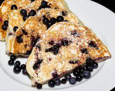 Buttermilk Huckleberry Pancakes