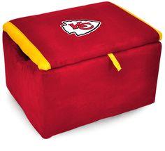 Kansas City Chiefs NFL Storage Bench
