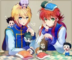 Kurama and Kurapika (crossover)