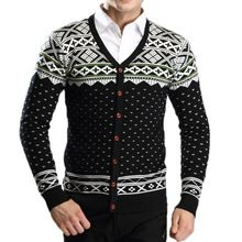 New Design Knitted Mens Winter Sweaters Fashion Warm Christmas Homme Cardigan Casual Slim Long Sleeve Clothing MXD0098(China (Mainland))