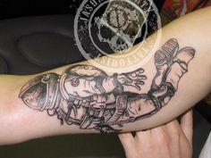astronaut tattoo tumblr - photo #36