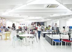 Inside Segis offices, in #Poggibonsi (Tuscany). Spread the colours on Pinterest!