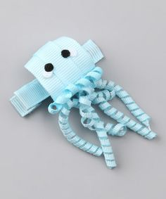 Jellyfish - so cute for my sweet little girl. Would be cute on a headband too!