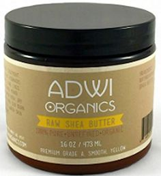 100% Unrefined Organic Raw Shea Butter - Best Pure Premium Grade A - Rich in Vitamins A & E - For Natural Skin & Hair Care - Excellent for Use as a Daily Moisturizer - Essential Ingredient for Natural DIY Body Butters, Lotions, Soaps & Other Recipes - Amazing Benefits for Acne, Eczema, Psoriasis, Diaper Rash, Stretch Marks, Sunburn, Rashes - 100% Money Back Guarantee - 16 oz. - Color: Yellow - http://essential-organic.com/100-unrefined-organic-raw-shea-butter-best