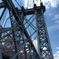 Williamsburg bridge - traveling into Manhattan by williamsburg_bk