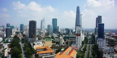 A bustling Ho Chi Minh City captured by a professional hexacopter drone Beautiful Vietnam, Aerial Images, Ho Chi Minh City, Southeast Asia, San Francisco Skyline, Gallery, Travel, Viajes, Roof Rack