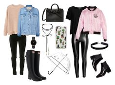 Sin título #6 by mariel-cvz on Polyvore featuring moda, MANGO, Topshop, Balmain, Hunter, Miss Selfridge, Casetify and Kate Spade