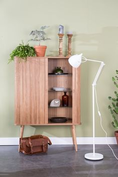 Zuiver Barbier cabinet is an ash wooden cabinet Interior Styling, Interior Decorating, Black Couches, Berlin Design, Wardrobe Furniture, Wooden Cabinets, Scandinavian Furniture, Glass Shelves, My Room
