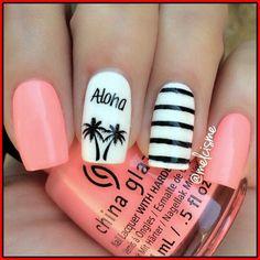 25 trendige Nägel für Ihren Sommerlook #ihren #nagel #sommerlook #trendige