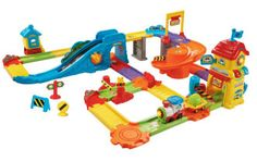 VTech Go! Smart Wheels Train Station Playset The Go! Smart Wheels Train Station Playset from VTech is an awesome building and vehicle set for Best Educational Toys, Educational Toys For Toddlers, Learning Toys, Preschool Toys, Toddler Gifts, Toddler Toys, Baby Toys, Toddler Stuff, Train Sets For Toddlers