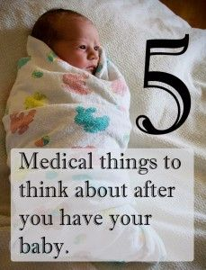 5 Medical Things to Think about During your Postpartum Recovery. Your body just had something BIG happen. Let it heal. #pullingcurls
