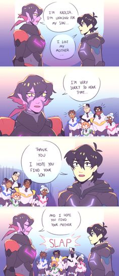 Keith and his mother; that is totally me everyday, totally oblivious to everything! ❤