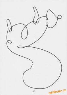 veverka - jedním tahem