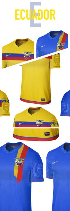 Ecuador. World Cup. Group F. Concepts on Behance