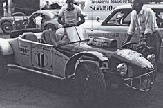 Caballo de Hiero Oldsmobile (Ford) - Akton Miller 1953 Carrera Panamericana Mexico