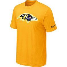 Baltimore Ravens Sideline Legend Authentic Logo Dri-FIT T-Shirt Yellow  http   629c7a177