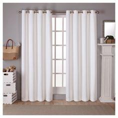 Schuyler Light Blocking Curtain Panel White 52x84