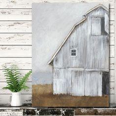 Farmhouse Paintings, Farmhouse Wall Art, Wooden Wall Art, Rustic Wall Decor, Rustic Walls, Diy Wall Art, Wall Art Decor, Country Wall Art, Farmhouse Decor