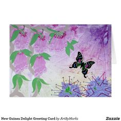 New Guinea Delight Greeting Card