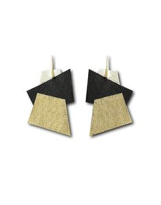 Yuti Design - Contemporary Jewelry Jewelery, Contemporary, Design, Cow Hide, Sterling Silver, Ear Rings, Manualidades, Jewels, Jewlery