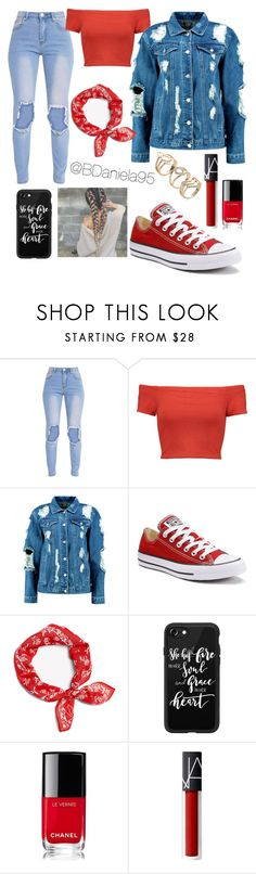 """Untitled #262"" by daniela95140 on Polyvore featuring Alice + Olivia, Boohoo, Converse, rag & bone, Casetify and Chanel"