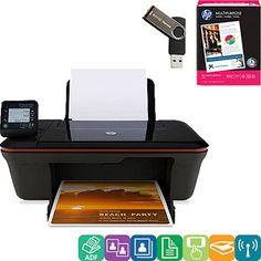 HP Deskjet 3056A All-in-One Printer - Back to School Value Bundle $59 Walmart.. need