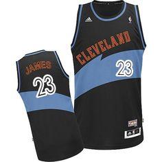 Cleveland Cavaliers 23 Lebron James Revolution 30 Swingman Retro Blue Jersey  Air Jordan e5c13f799