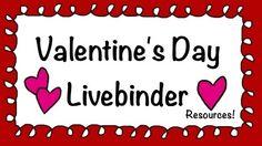 Tons of resources! • Valentine's Day - LiveBinder