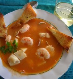 Chilean/Spanish Seafood Soup