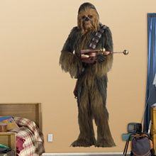 Chewbacca Fathead... Fucking want this shit, too!