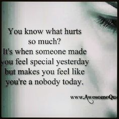 Grew up with that kind of hurt every. single. day..