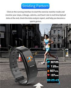 Fitness Tracker, Fitness Watch Activity Tracker with Heart Rate Monitor, Waterproof Color Screen Wristband with Calorie Counter Pedometer Sleep Blood Pressure/Oxygen Monitor for Kids Women Men Fitness Status, You Fitness, Physical Fitness, Fitness Watch, Fitness Gadgets, Weather Information, Calorie Counter, Fitness Bracelet, Smart Bracelet