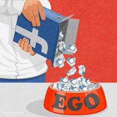 Illustrations That Take a Tongue-in-cheek Look at Technology Addiction in Today's Society Art And Illustration, Satire, Technology Addiction, Social Media Art, Social Media Humor, Satirical Illustrations, Art Illustrations, Political Art, Medium Art