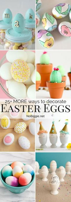 MORE ways to decorate Easter Eggs (NoBiggie) Easter Party, Easter Gift, Happy Easter, Diy Crafts Tutorials Step By Step, Craft Stick Crafts, Diy And Crafts, Easter Recipes, Easter Desserts, Easter Crafts For Kids