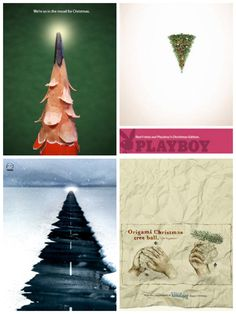 Collection of creative Christmas advertisements