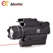 [Outdoor Sports] Tactical Compact Rail Mounted RED Laser Sight with 300 Lumen LED Flashlight