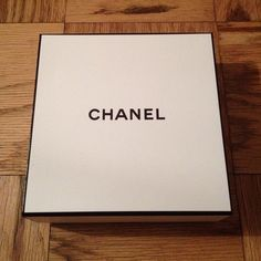 Chanel Box NEW and Authentic Chanel Box NEW and Authentic. White Box w Black CHANEL CHANEL Accessories