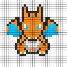 Charizard by Mysims4215701 on Kandi Patterns