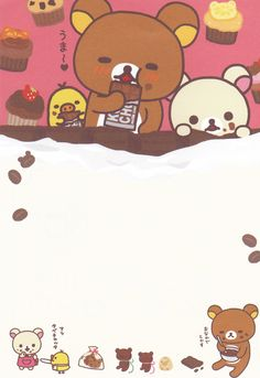 ★ Stardrops ★ | Kawaii stationery scans rilakkuma chocolates