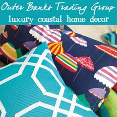 coastal decor at Outer Banks Trading Group