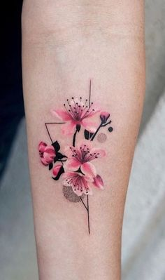 Flowers are popular tattoo designs for women. There are so many different types of flowers to choose from an endless range of colors. If your tattoos are too light, you can add beautiful flowers to make them look great.[Read the Rest] → Mini Tattoos, Trendy Tattoos, Cute Tattoos, Unique Tattoos, Body Art Tattoos, Small Tattoos, Flower Tattoo Designs, Tattoo Designs For Women, Tattoos For Women