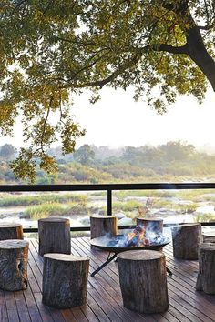 Singita Boulders. South Africa perfect for sundowners