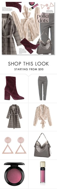 """""""Polka dots"""" by duma-duma ❤ liked on Polyvore featuring Kendall + Kylie, Piazza Sempione, John Lewis and Clé de Peau Beauté"""