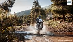 Enduro Training with the new ΒΜW R 1200 GS 2015. www.allroad-training.com