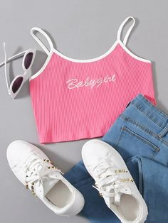 Swag Outfits For Girls, Cute Girl Outfits, Girls Fashion Clothes, Teen Fashion Outfits, Retro Outfits, Cute Casual Outfits, Girl Fashion, Fashion Ideas, Vestidos Chiffon