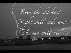 The sun will always rise.