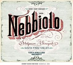wine labels-in the style of a vintage sign
