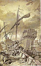 Pope Leo IV - Wikipedia, the free encyclopedia Pope Leo, Divinity School, African Art, Rome, Catholic, History, Battle, Pirate Ships, Sardinia