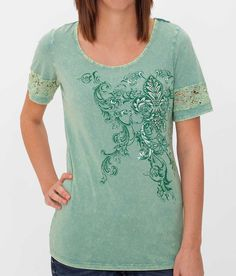 Daytrip Mineral Wash Top - Women's Shirts/Tops | Buckle